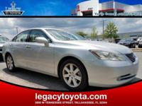 Cloth. 27/19 Highway/City MPG 2009 Lexus ES 350 Silver