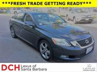 CARFAX 1-Owner. GS 350 trim. Heated Leather Seats, DVD,