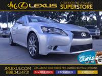 !! 1 OWNER / CLEAN CARFAX !! LEXUS CERTIFIED! 3 YR/100K