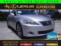 You are currently viewing a 2009 Lexus IS 250 at our
