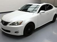 This awesome 2009 Lexus IS comes loaded with the