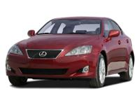 Recent Arrival! Leather. 2009 Lexus IS 250 RWD 6-Speed