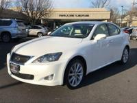 Options:  2009 Lexus Is 250|White/Ecru|V6 2.5L