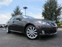 2009 Lexus IS250 All Wheel Drive. One-Owner, Sold New