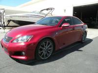 2009 Lexus IS F; 5.0L V-8 416 HP w/ 8 speed shift-able