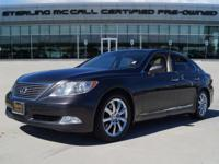 We are excited to offer this 2009 Lexus LS 460. CARFAX