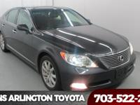 2009 Lexus LS 460 Smoky Granite Mica Navigation,