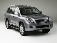 LX 570 and 6-Speed Automatic with Sequential Shift ECT.