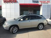 2009 Lexus RX 350 Green FWD 5-Speed Automatic with