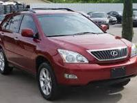 2009 Lexus RX 350 Base 4dr SUVthis incredible Comfort