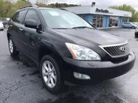 Black 2009 Lexus RX 350 AWD 5-Speed Automatic with