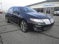 This 2009 Lincoln MKS Includes -Leather -Bluetooth -V6