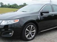 2009 LINCOLN MKS AWD, 3.7 V6, Auto, Tuxedo Black/Black