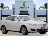 Options:  2009 Lincoln Mks 4Dr Sdn Fwd|White Chocolate