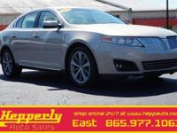 Clean CARFAX. This 2009 Lincoln MKS in Brilliant Silver