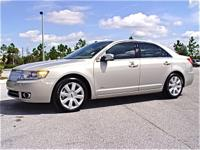 Description Make: Lincoln Year: 2009 VIN Number: