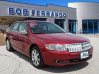 Options:  2009 Lincoln Mkz Base|Miles: 36172Color: