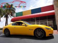 Exterior Color: giallo granturismo, Body: Coupe,