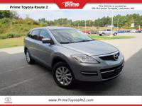 New Price! 2009 Mazda CX-9 Sport in Classic Silver.