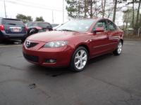 Red and Ready! Gasoline! This 2009 Mazda Mazda3 is for