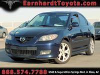 We are happy to offer you this 2009 Mazda Mazda3 which