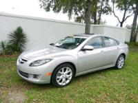 CARFAX 1-Owner, Mazda Certified. Nav System, Moonroof,