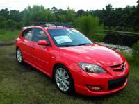 This 2009 Mazda MazdaSpeed3 is Equipped With Standard