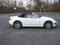 2009 Mazda MX-5 Miata Grand Touring Convertible;Marble