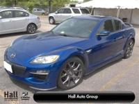 RX-8 R3, 4D Coupe, 1.3L Rotary 232 hp @ 8500 RPM,