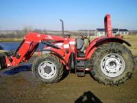 2009 McCormick C Max 105 tractor for sale. 500 hours.