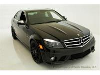 2009 MERCEDE BENZ C 63 SEDAN EXOTIC CLASSICS IS PLEASED