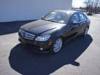 This 2008 Mercedes-Benz C300 comes in Sport trim. C300