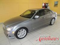 This C300 4Matic comes with a 100,000 mile Certified