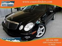 2009 Black Mercedes E350 4Matic Denver/Aurora. LOADED