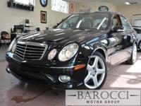 Options:  2009 Mercedes E-Class E550 4Dr