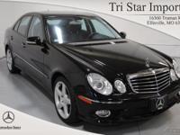 Options Included: E350w4 $51900, 040 Black, 141 Black