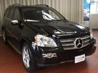 CARFAX One-Owner. Black 2009 Mercedes-Benz GL-Class