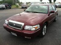 Solid and stately, this 2009 Mercury Grand Marquis is a