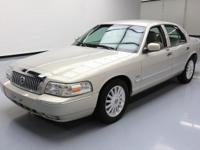 This awesome 2009 Mercury Grand Marquis comes loaded