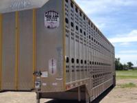 2009 Merritt Cattle Drive Trailer For Sale in Garden