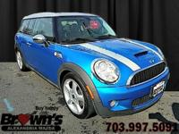 With this 2009 MINI Cooper S Clubman you will find a