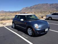 2009 Horizon Blue Mini Cooper EPA-rated City/Highway
