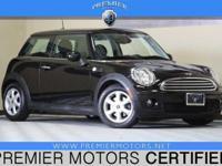 Options:  2009 Mini Cooper Black Black 1.6L 4