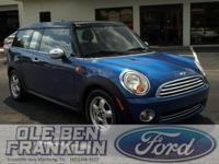 Options:  2009 Mini Cooper Clubman|Blue/|V4 1.6L