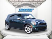 Options:  2009 Mini Cooper S|Green|4-Cyl Turbo 1.6