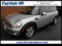 You won't find a nicer 2009 Mini Cooper Clubman than