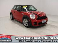 Drivers wanted for this fun and exciting 2009 MINI