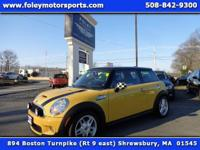 FUN to DRIVE!! 2009 MINI Cooper S Hatchback... Mellow