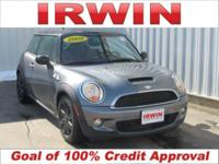 Gray 2009 MINI Cooper S FWD 6-Speed Manual with