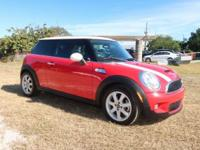 Clean CARFAX. Chili Red 2009 MINI Cooper S FWD 6-Speed